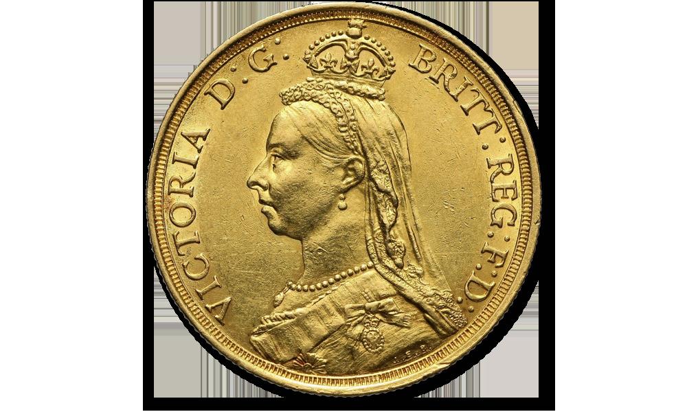 suwereny-królowej-Wiktorii-jubileuszowa-głowa