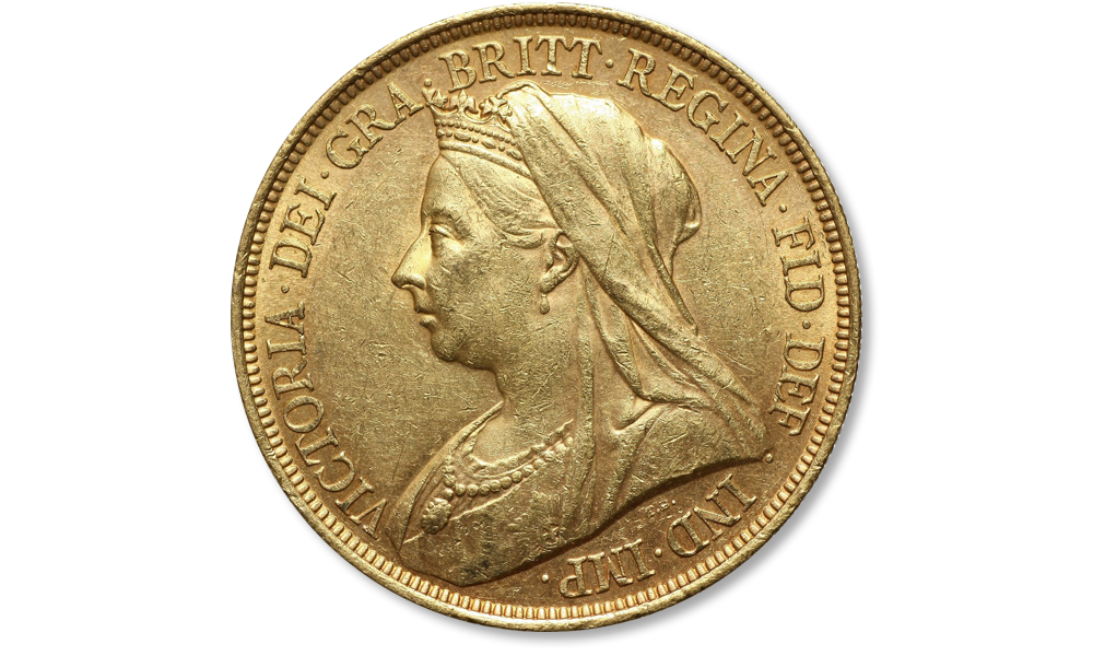 suwereny-królowej-Wiktorii-stara-głowa