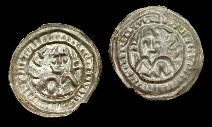 brakteat hebrajski MIeszka III