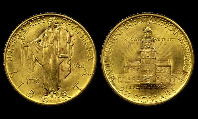 Deklaracja NIepodległości. Złota moneta z 1926 roku