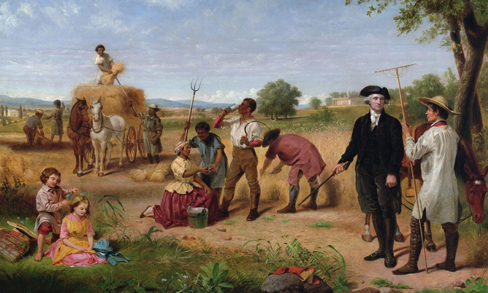 George Washington jako farmer