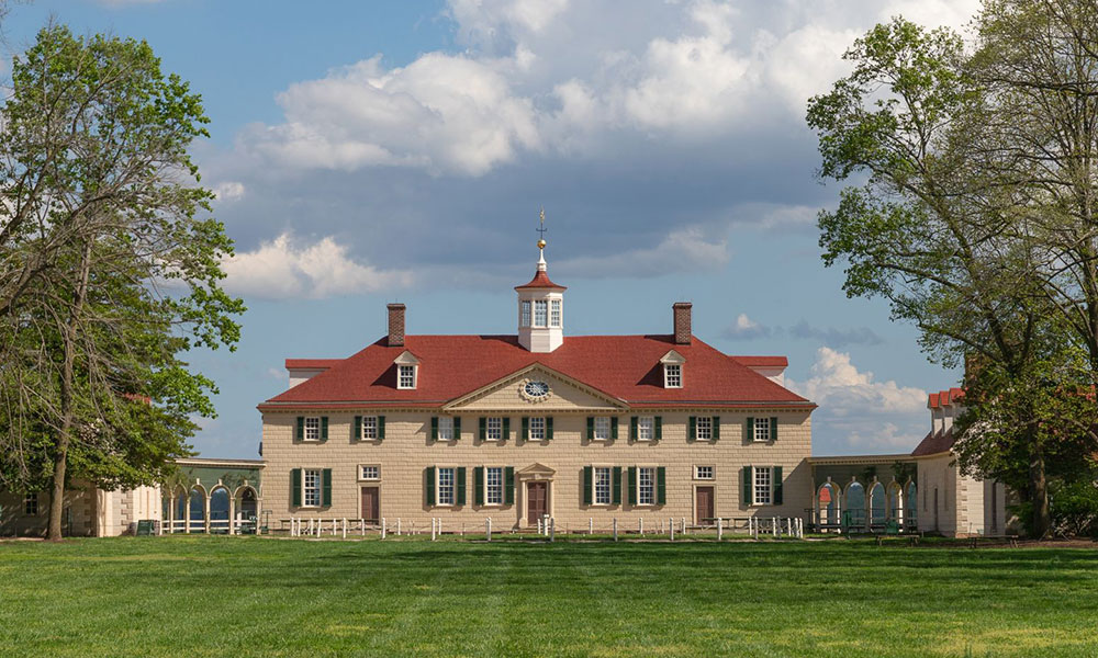 George Washington - posiadłość w Mount Vernon