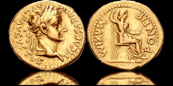Tyberiusz i jego złoty aureus